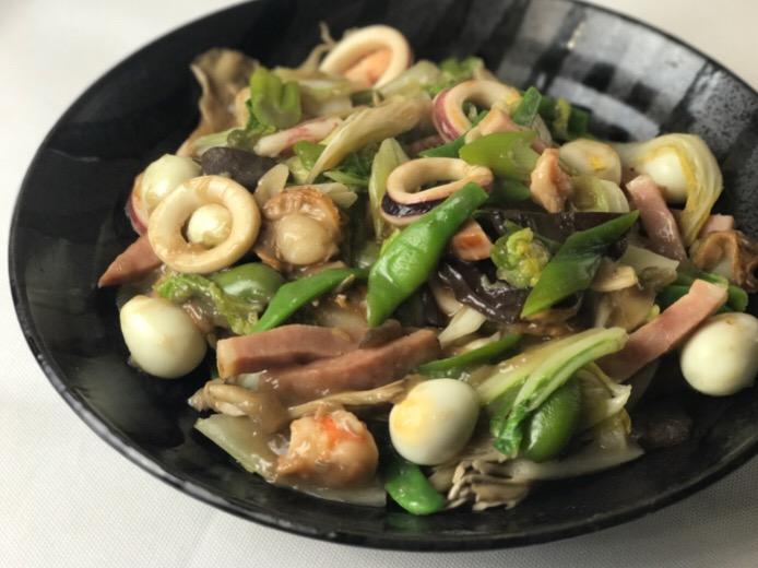 八宝菜イタリアン風