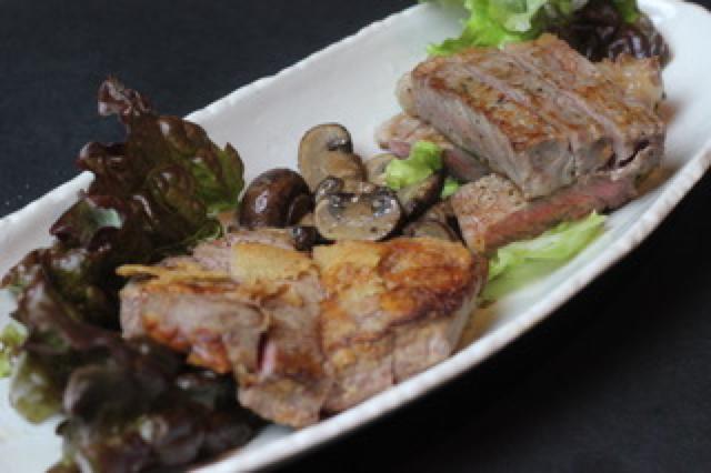 牛肉ヘレ和風ステーキ
